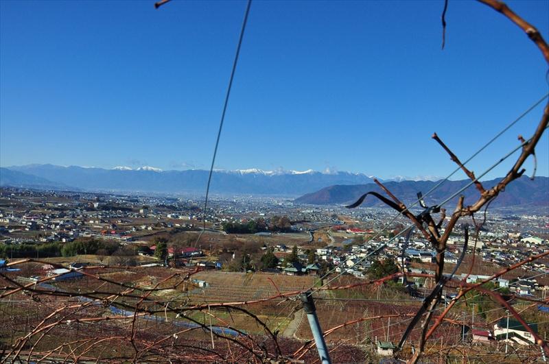 鳥居平畑からの景色