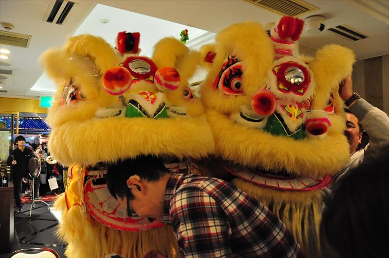 中国獅子舞@揚州飯店