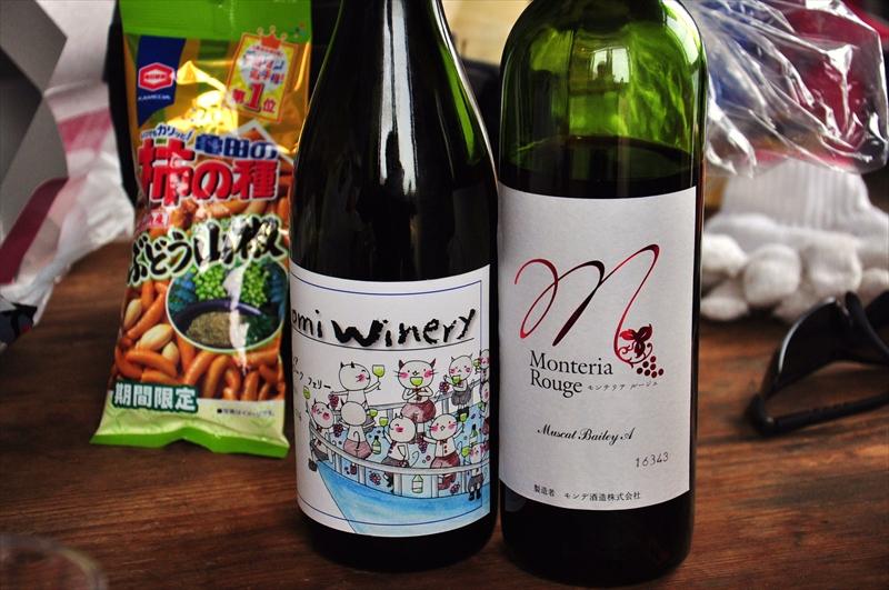 五味葡萄酒さんとモンデ酒造さんのワイン